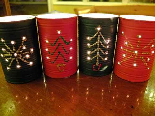 Christmas lanterns DIY Craft Ideas