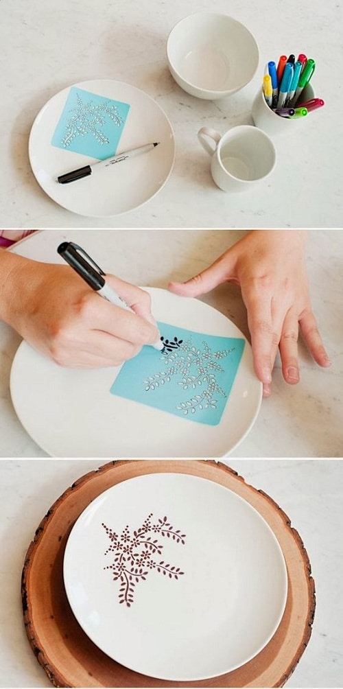 DIY Craft Ideas using Sharpie DIY Craft Ideas