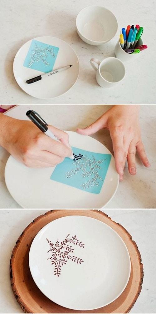 DIY Craft Ideas using Sharpie DIY Craft Ideas