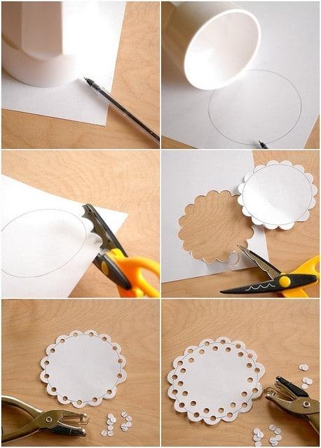 DIY Doily Craft Ideas