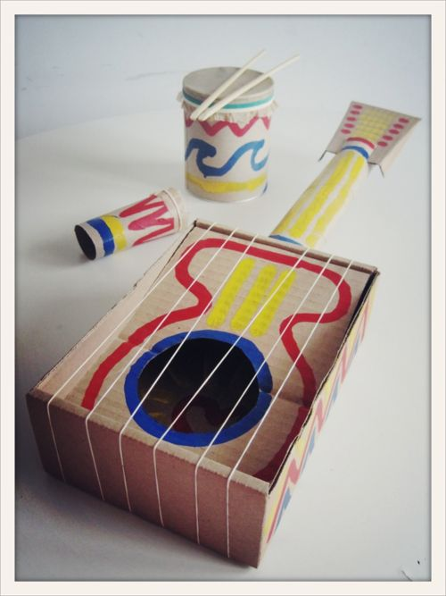 DIY Guitar Projects for Kids