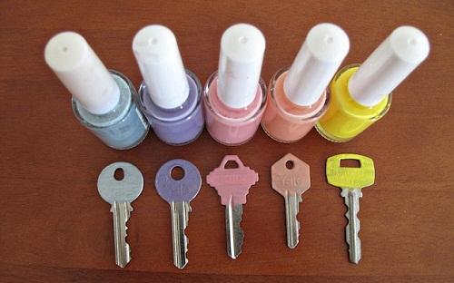 Painted Keys DIY Craft Ideas