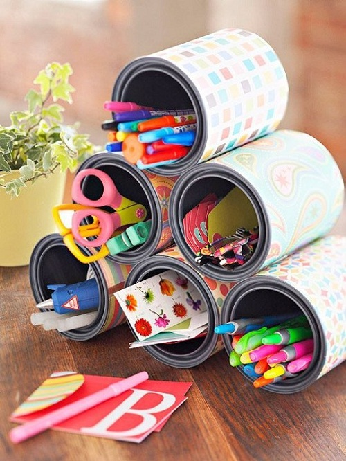 Pen Holder DIY Craft Ideas