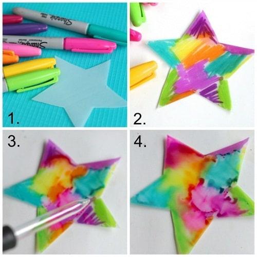 Sharpie Painting DIY Craft Ideas