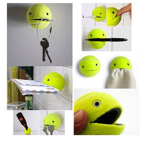 Tennis Ball Holder DIY Craft Ideas