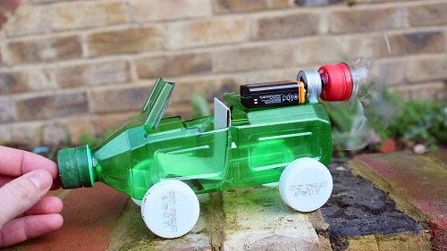 Car Made of Bottle DIY Projects