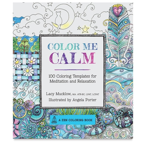 Color Me Calm Best Adult Coloring Books