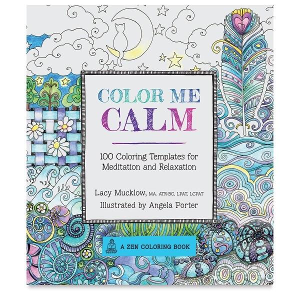 Color Me Calm Best Adult Coloring Books