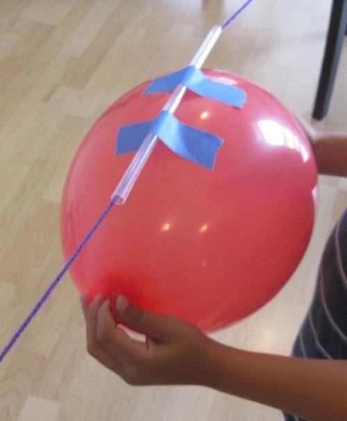 DIY Balloon Rocket Projects