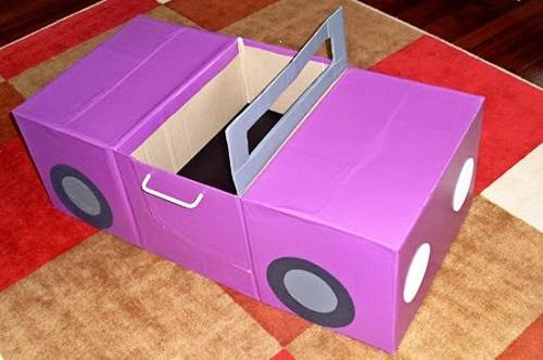 DIY Kids Car Craft Projects