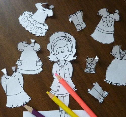 DIY Paperdoll Projects