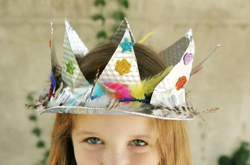 DIY Pie Plate Crown Projects