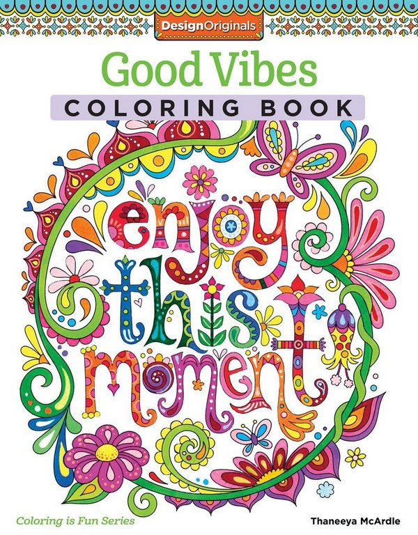 Good Vibes Adult Coloring Books