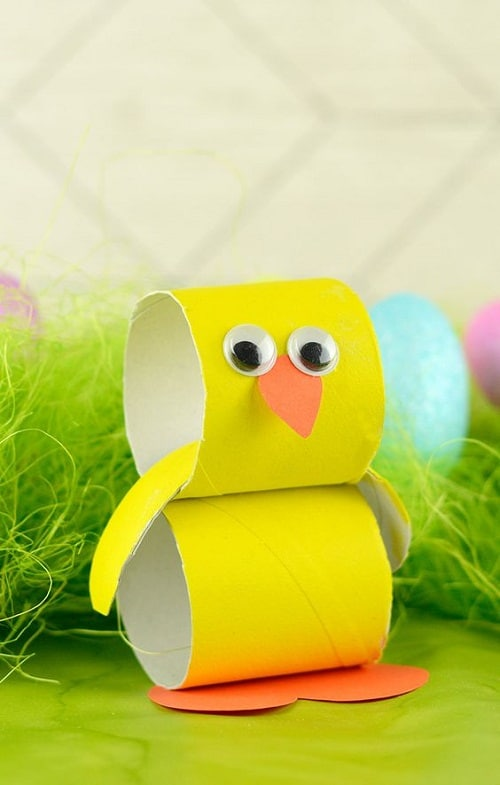 Paper Roll Duck DIY Projects