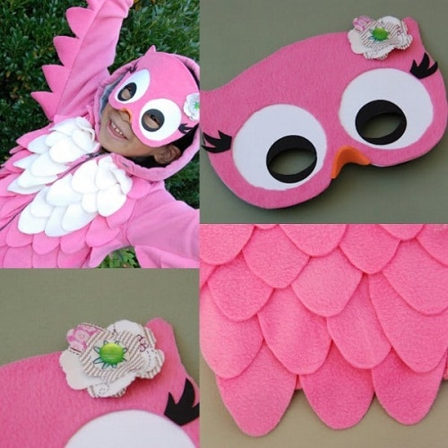 Pink Owl Costume DIY Projects