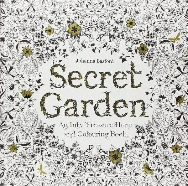 Secret Garden Adult Coloring Books