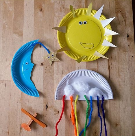 Sun and Moon Paper DIY Projects