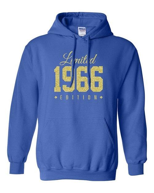 Hoodie 50th Birthday Ideas