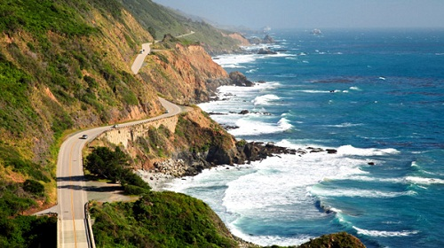 Pacific Coast Highway 50th Birthday Ideas