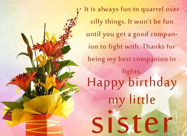 Best Birthday Wishes Messages For Sister