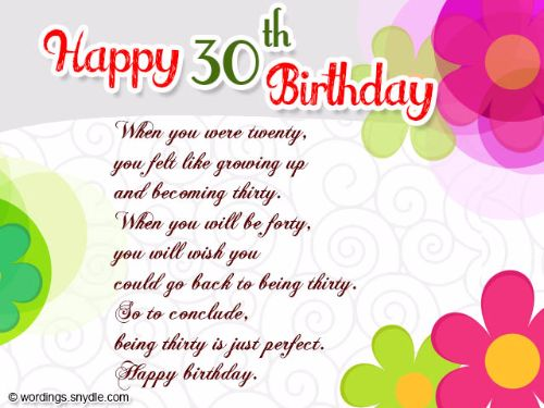 Birthday Wishes For Husband Turning 30