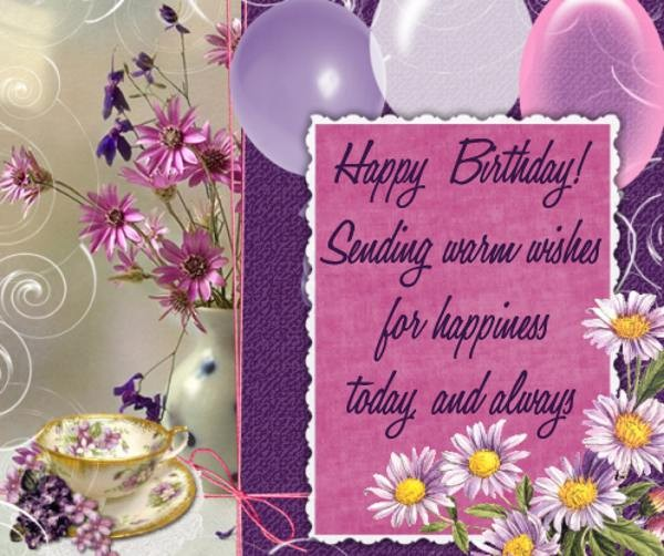 110 Unique Happy Birthday Greetings with Images My Happy – Wish Birthday Card