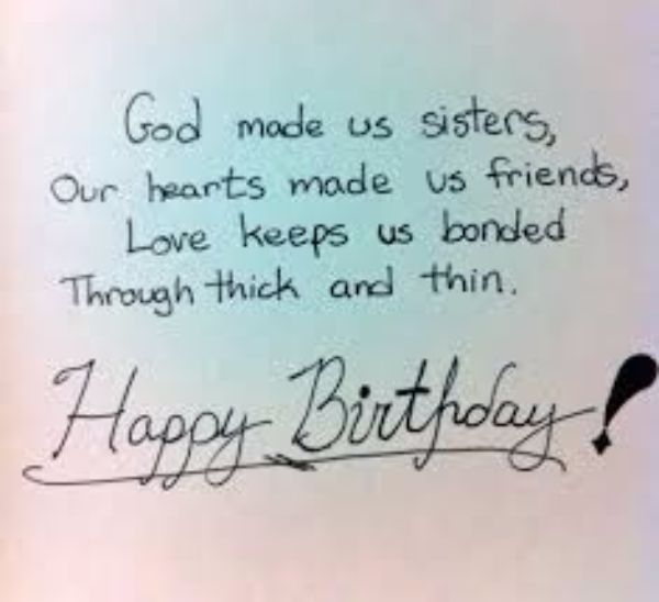 Christian Birthday Wishes Images For Sister