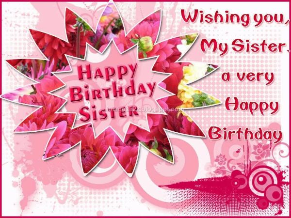 Christian Birthday Wishes Messages For Sister