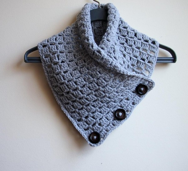 Crochet Patterns Featuring Buttons