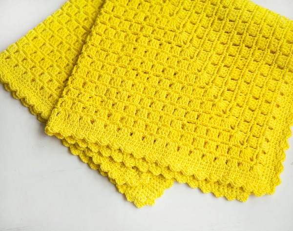 Easy Blanket Crochet Pattern