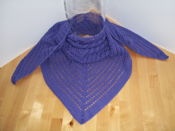 Easy Lightweight Crochet Shawl