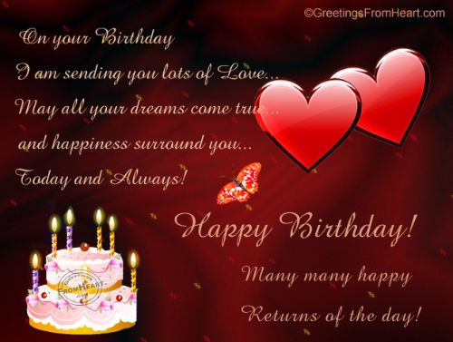 Awe Inspiring 100 Romantic And Happy Birthday Wishes For Husband My Happy Valentine Love Quotes Grandhistoriesus