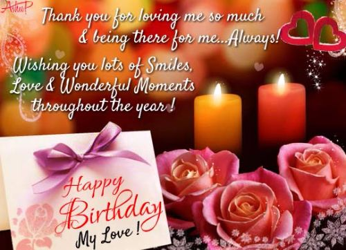 Romantic Happy Birthday Wishes For Husband
