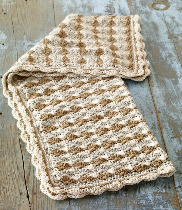 Crochet Stitches Unusual : Crochet baby blankets can make babies warm. It can also be used as a ...