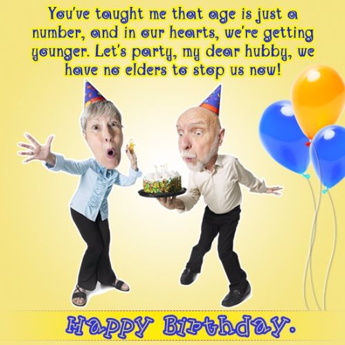 Birthday Wishes For Husband Funny
