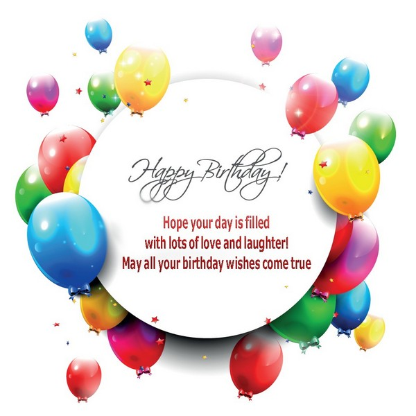 110 Unique Happy Birthday Greetings with Images - My Happy ...