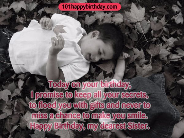 Funny Happy Birthday Wishes For Sister From Brother