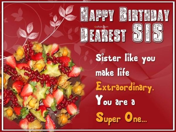 Funny Happy Birthday Wishes For Sister In Law