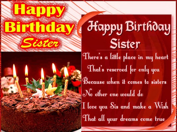 Happy Birthday Sisters