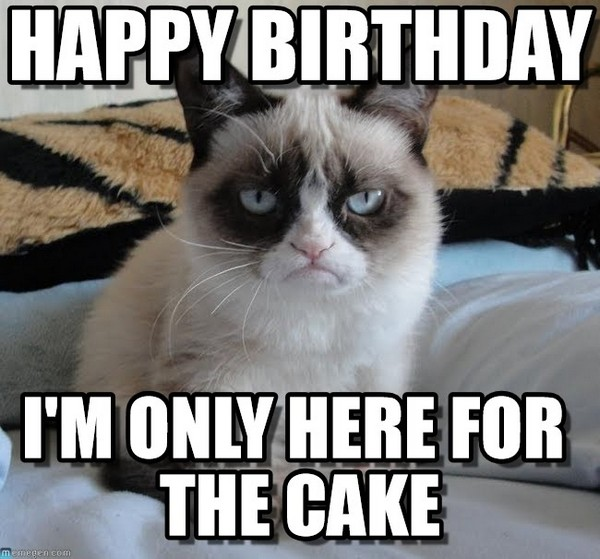 Happy Birthday To Me Meme