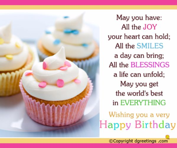 Sweet Happy Birthday Wishes SMS For Sister
