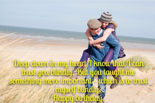 Birthday Wishes For Loving Husband