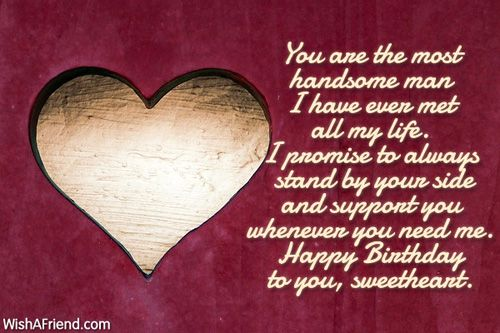 Birthday Wishes For Sweet Husband