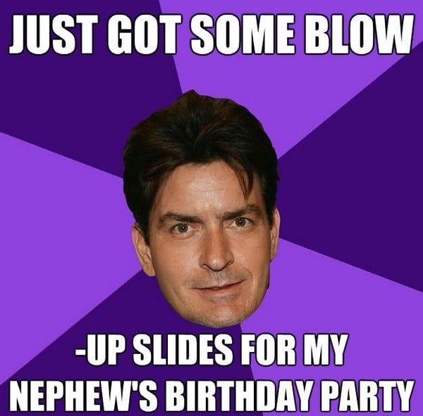 My Birthday Party Meme