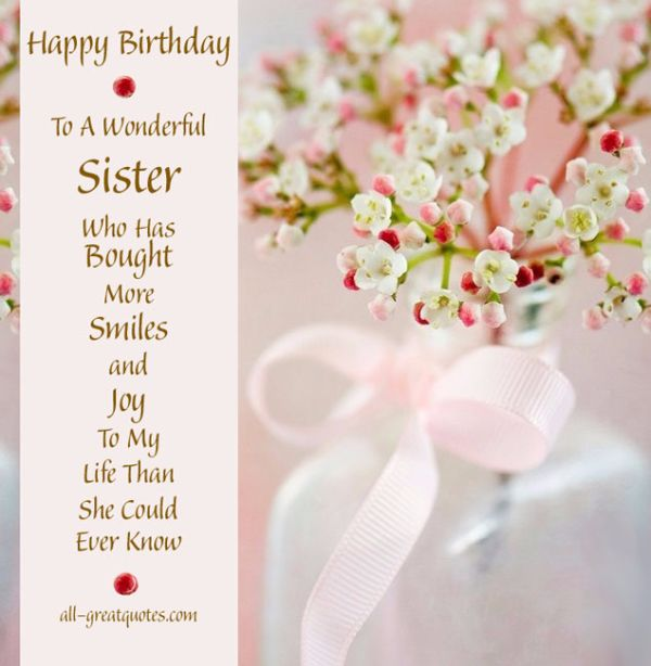 Cute Birthday Quotes For My Sister Sister scraps animated – Cute Birthday Card for Sister
