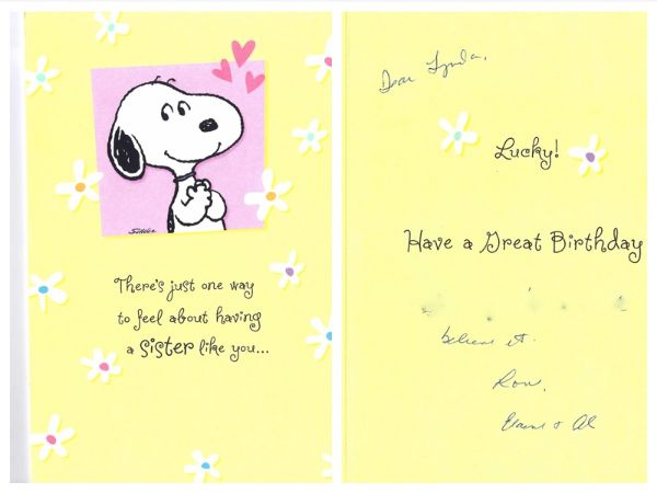 Sweet Birthday Wishes Cards For Sister