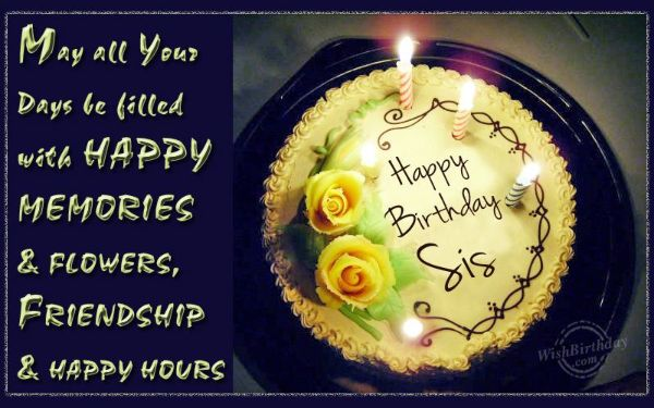 Religious Happy Birthday Wishes SMS For Sister
