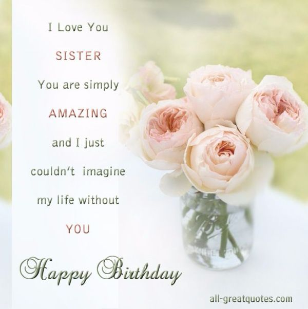 Religious Happy Birthday Wishes Messages For Sister