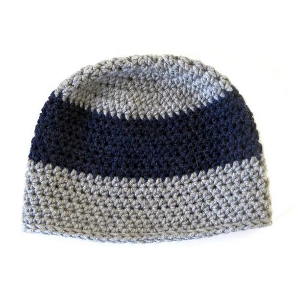 Stripe Crochet Hat