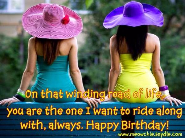Sweet Birthday Wishes For Sister